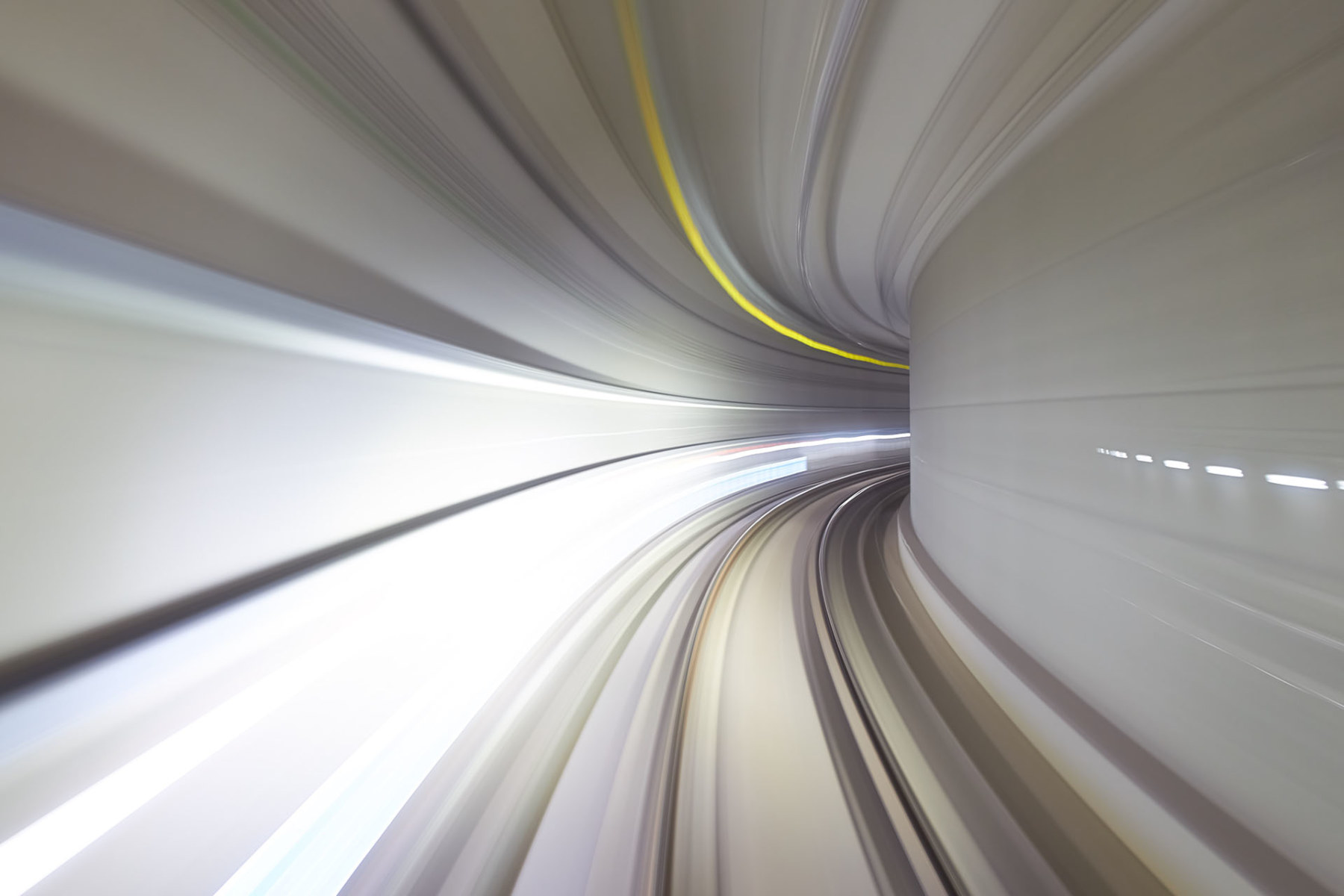 autonomous subway long exposure photography
