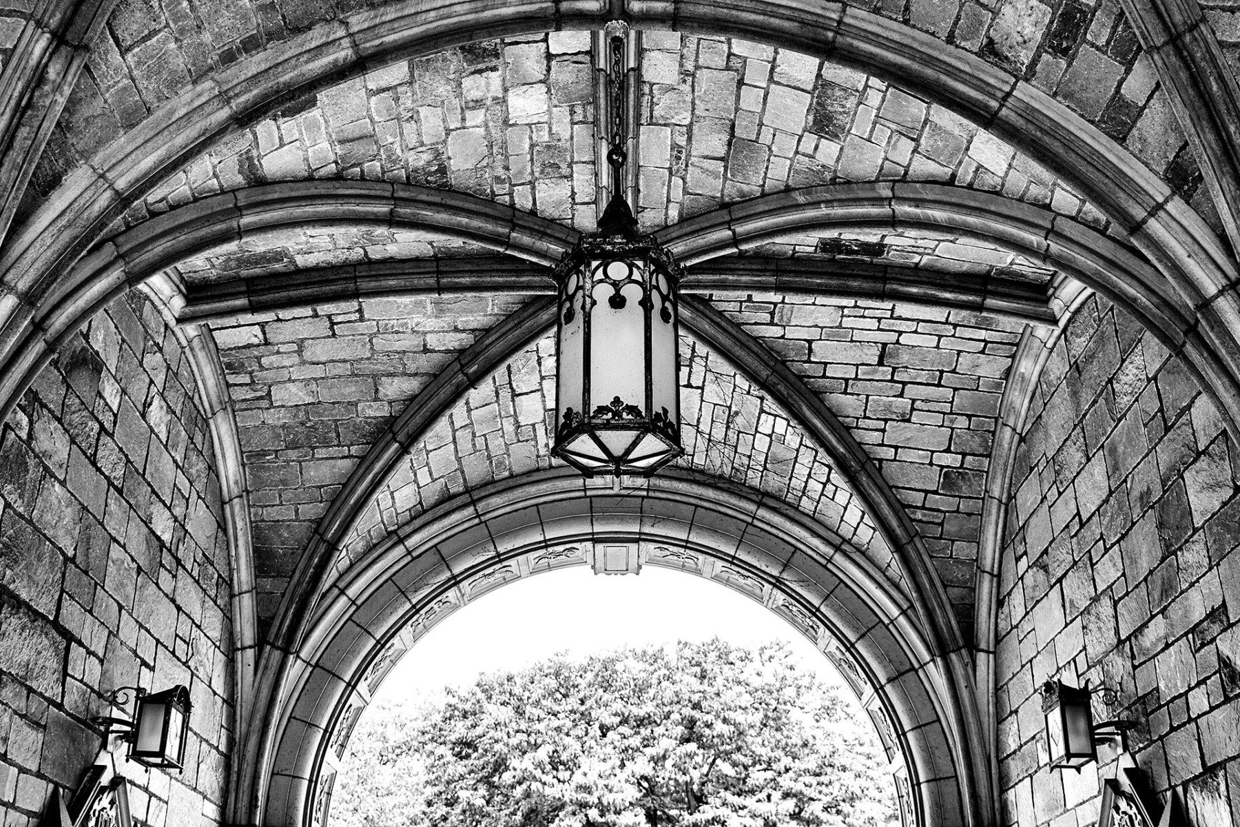 university of michigan law quad arch