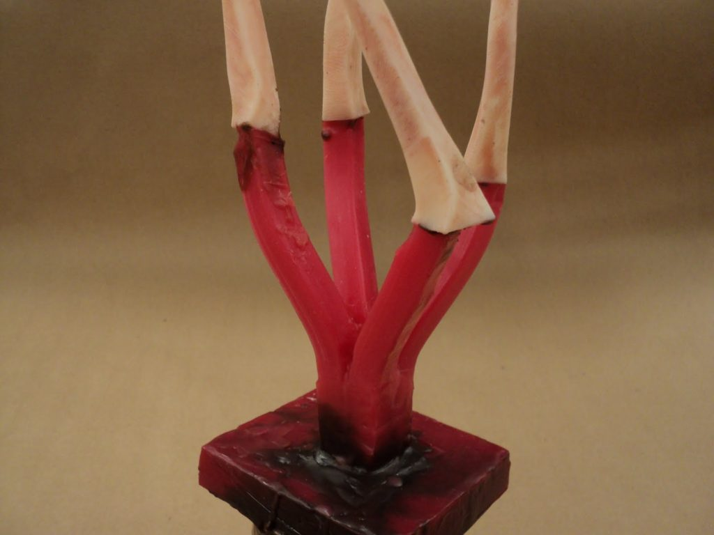 lost wax process 3d printed sculpture for bronze casting