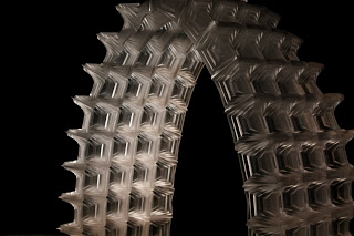 Digital Fabrication Parallel Pleat Origami Structure